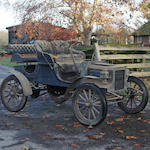 From the Pierce A. Miller Carriage Collection,c. 1907 REO Model B Runabout  Engine no. 5654