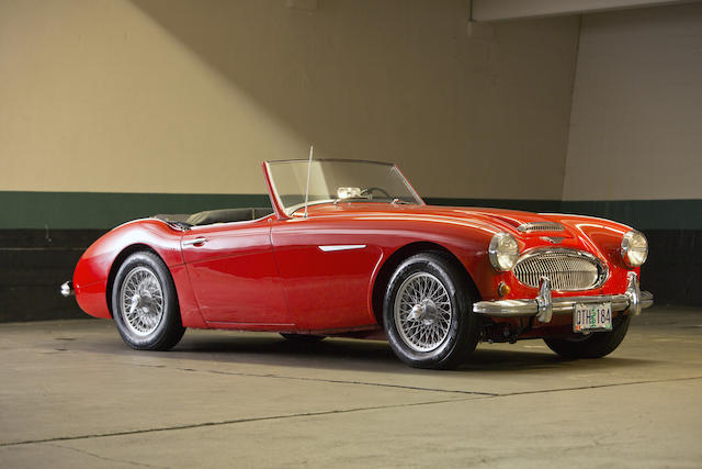 1961 Austin-Healey 3000 Mk II BT7 Convertible  Chassis no. HBT7-L/15724 Engine no. 29E-RUH/2013