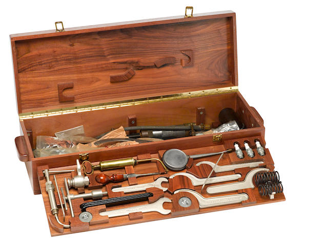 A Rolls-Royce Phantom II toolkit,