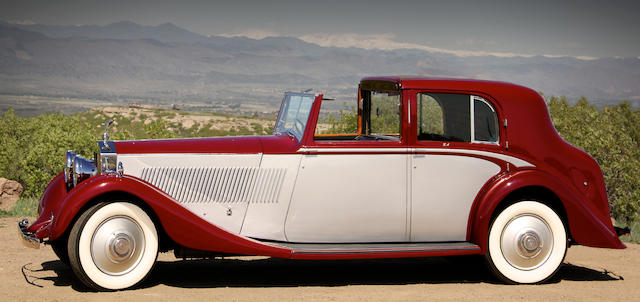 The ex-Lady Astor,1935 Rolls-Royce Phantom II Sedanca de Ville  Chassis no. 58UK Engine no. RX35