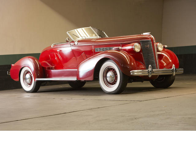 1937 Buick Boattail Roadster  Chassis no. 3086477