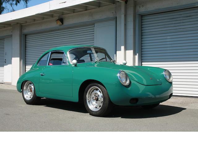 The ex-Steve Schmidt, Monterey Historics participant,1963 Porsche 356B Coupe Vintage Racer  Chassis no. 211743