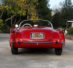 California black plate example,1954 Chevrolet Corvette Convertible  Chassis no. E54S004221 Engine no. 0769197F54YG
