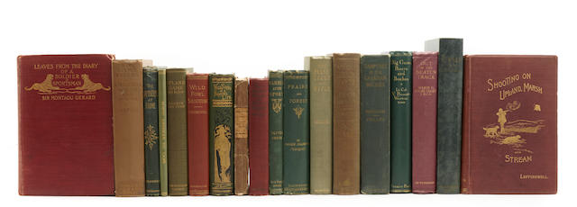 SPORTING.  30 volumes on sporting, guns, dogs, etc, 1880s-1920s,