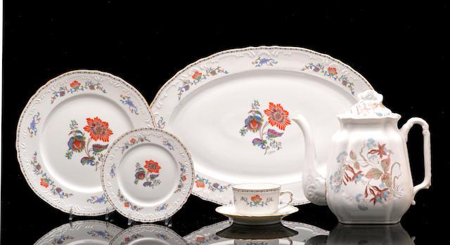 A Limoges porcelain part service