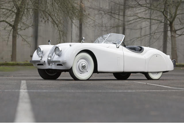 1954 Jaguar XK120 Roadster  Chassis no. 675622 Engine no. F3199-8