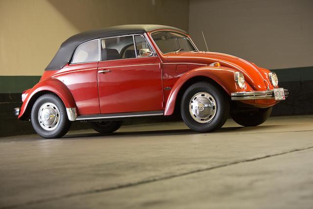 1969 Volkswagen  Beetle Convertible  Chassis no. 159663083