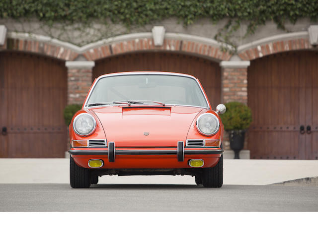 Original EMPI prepared, Bob Bondurant tested,1967 Porsche 911S Coupe  Chassis no. 308224S Engine no. 962018