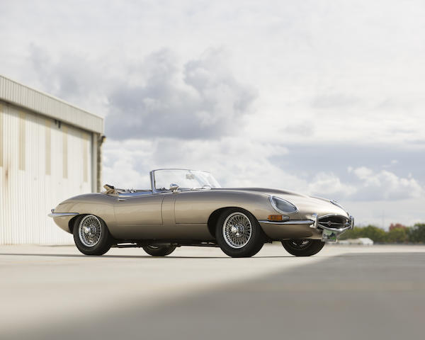 1964 Jaguar XKE Series 1 3.8-liter Roadster  Chassis no. 879674 Engine no. RA2357-9