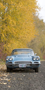 In the same ownership for 48 years,1961 Chevrolet Corvette Convertible  Chassis no. 108675107237 Engine no. 1107237F0403CQ
