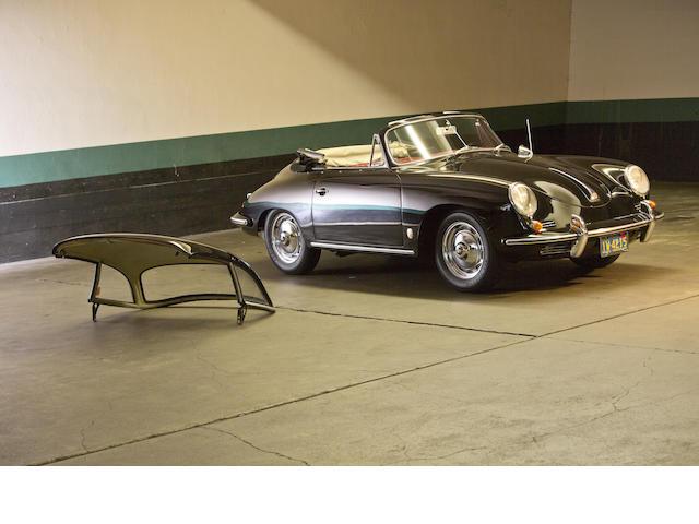 1960 Porsche 356B 1600 Cabriolet  Chassis no. 153162