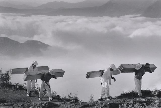 Sebastiao Salgado, Wood Delivery men, Eastern Sierra Madre;