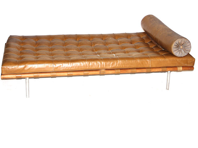 A Ludwig Mies van der Rohe daybed