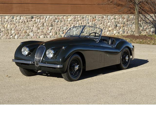 1953 Jaguar XK120M Roadster  Chassis no. S674089 Engine no. KE 4996-8 (see text)