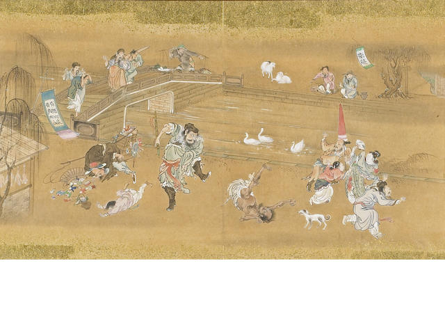 Anonymous (19th Century): Scenes from The Water Margin