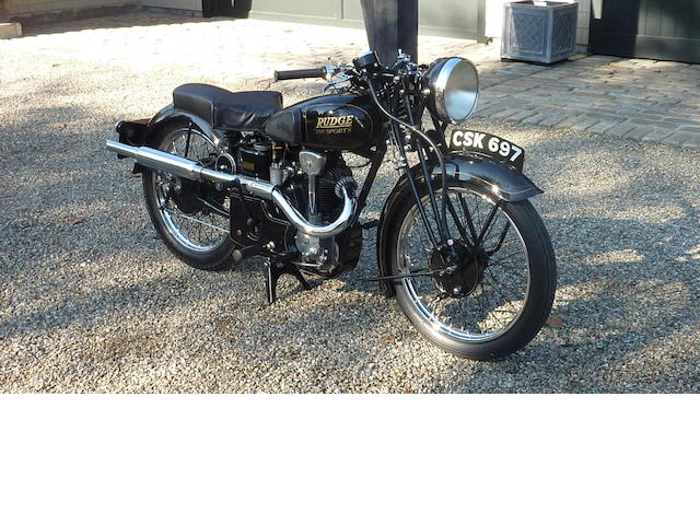 1938 Rudge 250 Sport Frame no. 63843 Engine no. Z1480
