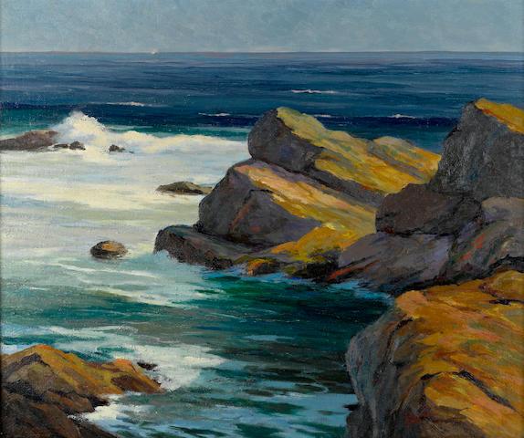 Leon Durand Bonnet (American, 1868-1936) Ogunquit, Maine