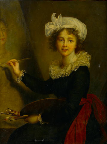 After Elisabeth Louise Vigée Le Brun Self portrait