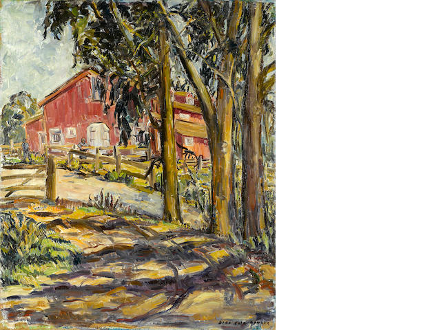 Sara Kolb Danner, Red Barn, Hope Ranch, Santa Barbara