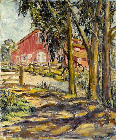 Sara Kolb Danner, Red Barn, Hope Ranch, Santa Barbara