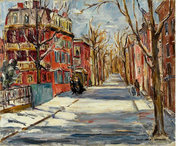 Sara Kolb Danner, Snow Street