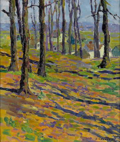 Sara Kolb Danner, View through the Trees