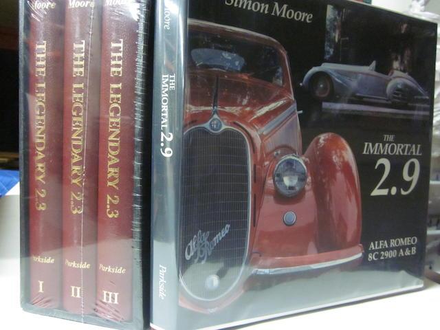 The Legendary 2.3 Vol I – III: Simon Moore; The Immortal 2.9: Simon Moore