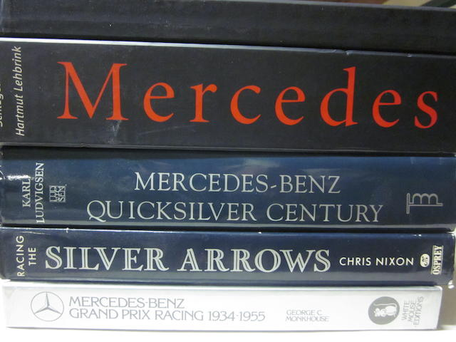 A good collection of mostly Mercedes-Benz racing titles,