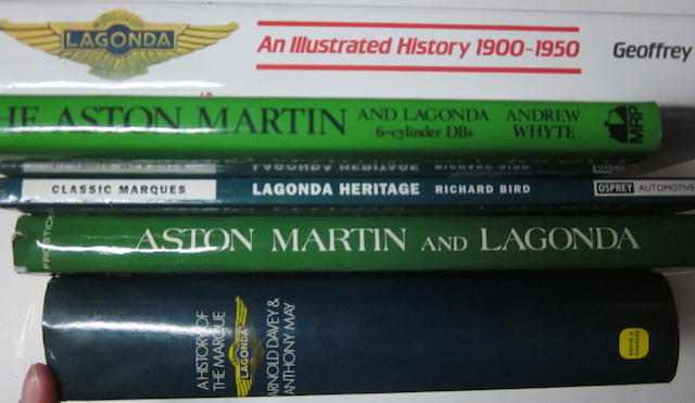 A grouping of Aston Martin titles,