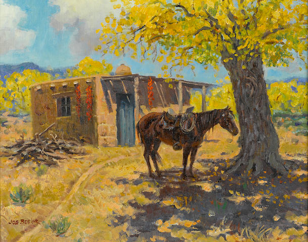 Joe Neil Beeler (American, 1931-2006) Spanish autumn
