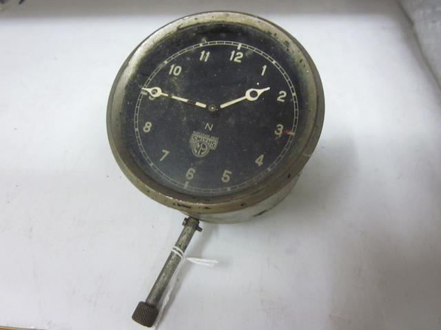 A Smiths 8 day dash clock,