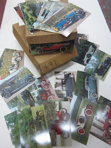 A large collection of postcards of photographed by Henry Austin Clark Jr., in the 1970s.