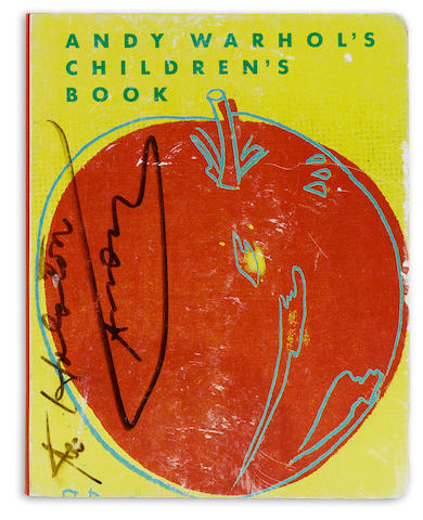 WARHOL, ANDY. 1928-1987. Andy Warhol's Children's Book. Zurich: Bruno Bischofberger, 1983.<BR />