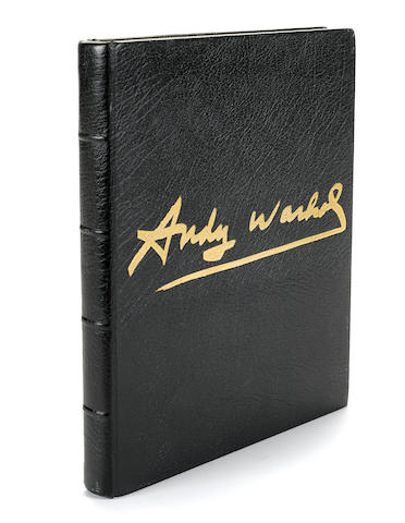 WARHOL, ANDY. 1928-1987. COLACELLO, BOB. Andy Warhol's Exposures. New York: Andy Warhol Books/Grosset & Dunlap, [1979].