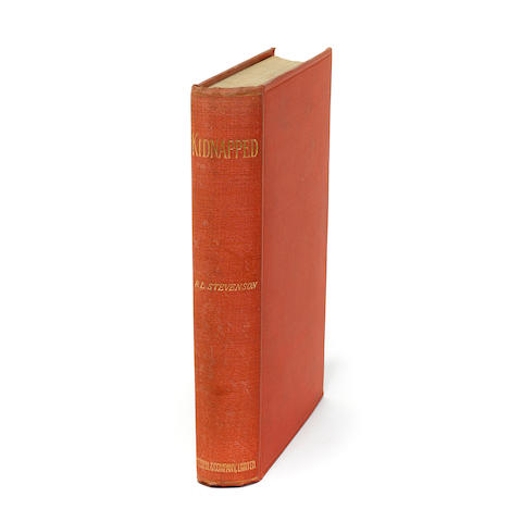 STEVENSON, ROBERT LOUIS. 1850-1894.  Kidnapped. Being Memoirs of the Adventures of David Balfour in the Year 1751. [London]: Cassell & Company, 1886.<BR />