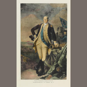 [WASHINGTON, GEORGE. 1732-1799.]  MORGAN, JOHN HILL and MANTLE FIELDING. The Life Portraits of Washington and their Replicas. Philadelphia: printed for subscribers, 1931..