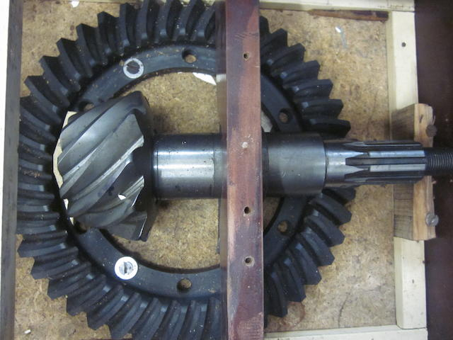 A new Lagonda V-12, ring & pinion, special low numerical/high speed set,