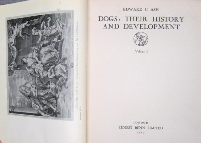 Edward C. Ash. Dogs: their History and Development. London: Ernest Benn, 1927.