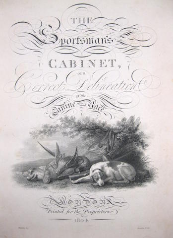 [William Taplin.] The Sportsman's Cabinet; or, a Correct Delineation of the Various Dogs used in the Sports of the Field: including the Canine Race in general. London: for the Proprietors, 1803-1804.