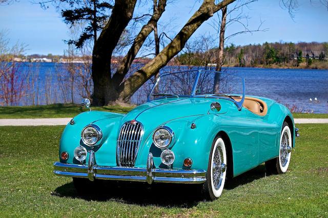 1956 Jaguar XK140 MC Roadster  Chassis no. S 812251 DN Engine no. G 7276 8S