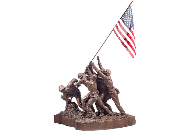 Iwo Jima sculpture