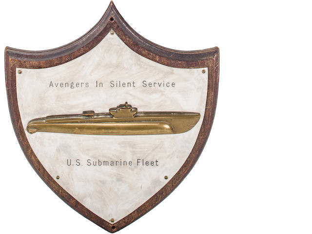 WWII submarine fleet officer's club plaque (3/4)