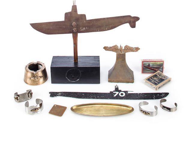 A group of 12 submarine items (3/57)