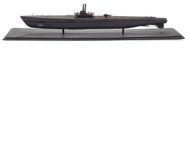 Ewquisitely Detailed WWII USN Submarine model