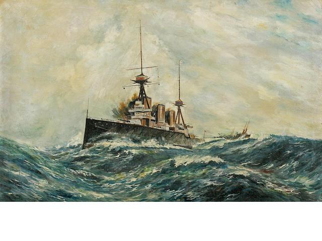 HMAS Australia painting