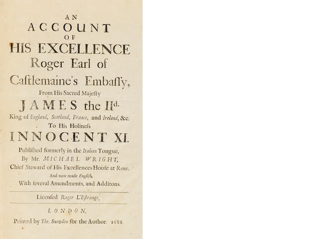 WRIGHT, JOHN MICHAEL. Account... 1688.