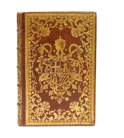 TURBIA. La Gigantologia. 1760. Papal Binding.