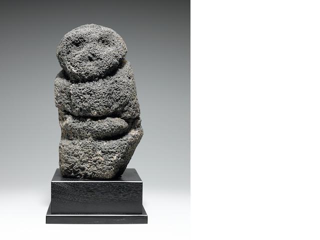 Stone God Figure