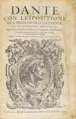 Dante con L'espositione....1564
