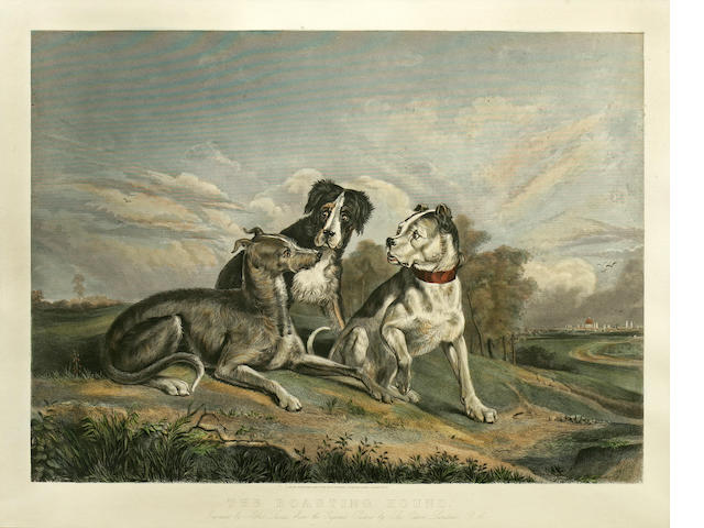 After Sir Edwin Henry Landseer, RA The Boasting Hound image 17 3/4 x 24 in. (45.1 x 60.9 cm.)